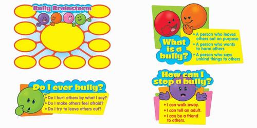 Trend Enterprises Inc Lets Talk about Bullying Bulletin Board Classroom Display Set