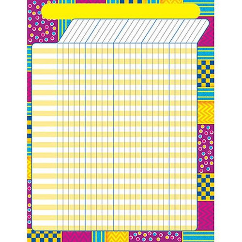 Trend Enterprises Inc Snazzy Design Large Durable Incentive Wall Reward Chart