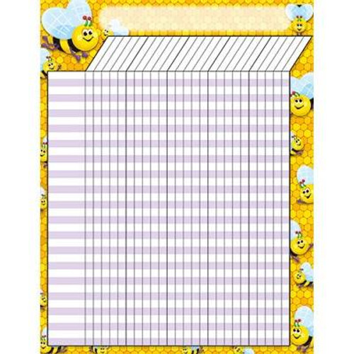 Trend Enterprises Inc Bees Design Large Durable Incentive Wall Reward Chart