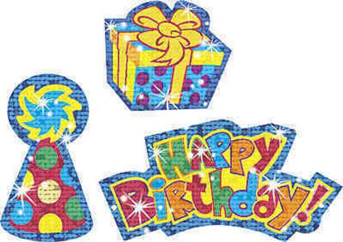 Trend Enterprises Inc TREND Kids Brilliant Birthday Reward Sparkle Stickers