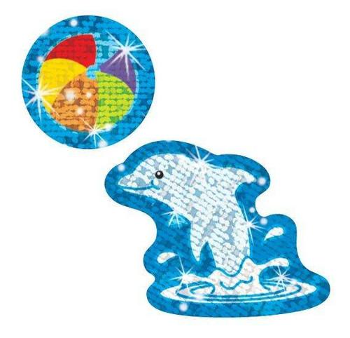 Trend Enterprises Inc TREND Dynamic Dolphins Reward Sparkle Stickers