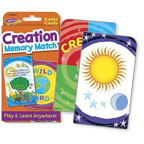 Trend Enterprises Inc Trend Creation Memory Match Challenge Flash Card Educational Game