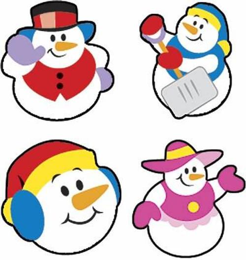 Trend Enterprises Inc 800 Super Snow Friends superShapes Snowman Reward Stickers