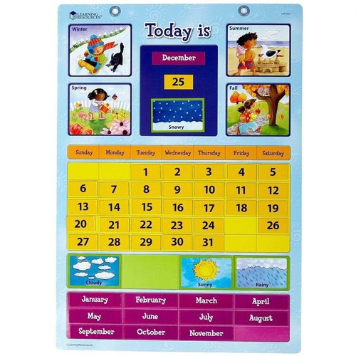 Learning Resources Learning Resources - Magnetic Learning Calendar