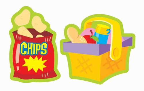 Trend Enterprises Inc Perfect Picnic APPLE PIE Scratch n Sniff Reward Stickers