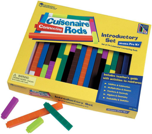 Learning Resources Learning Resources - 74 Cuisenaire Connecting plastic rods