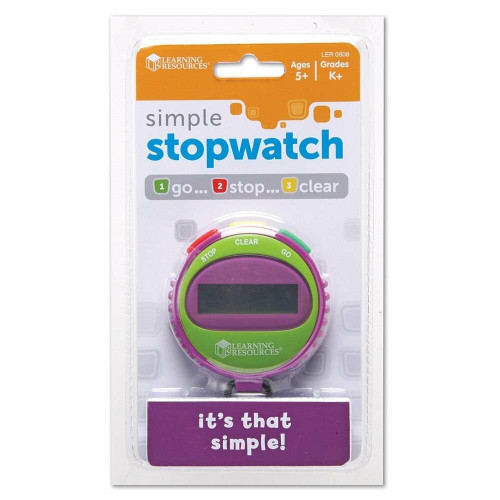 Learning Resources Childrens Simple Stopwatch by Learning Resources