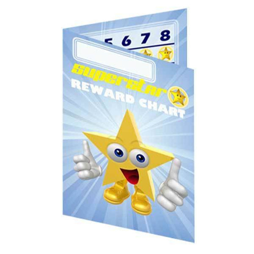 Sticker Stocker 10 Pocket Reward Charts Incentive Pack for up to 13mm stickers