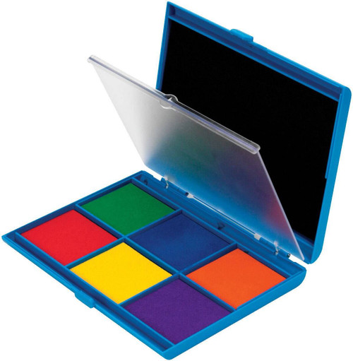 Learning Resources Learning Resources - Jumbo 7 Colour Stamp Ink Pad