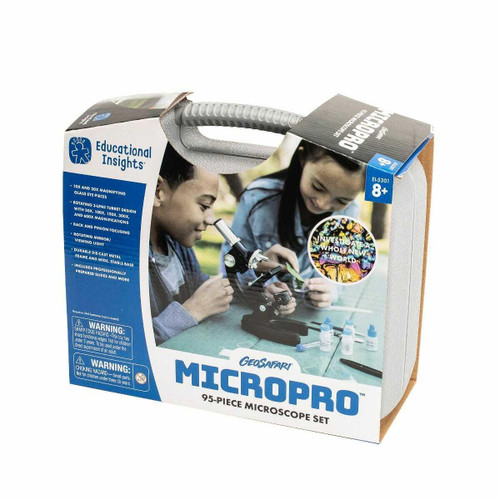Learning Resources MicroPro 95 Piece Kids Microscope Set by Learning Resources