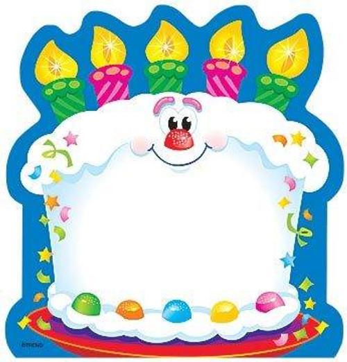 Trend Enterprises Inc Bright Birthday Themed Kids Fun Note Pad