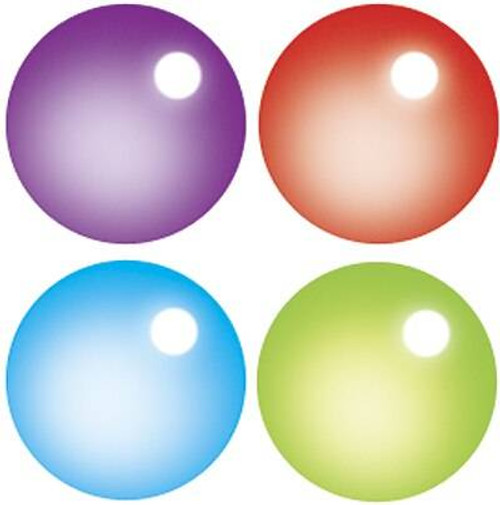 Trend Enterprises Inc 800 Rainbow Gel SuperSpots mini reward Stickers