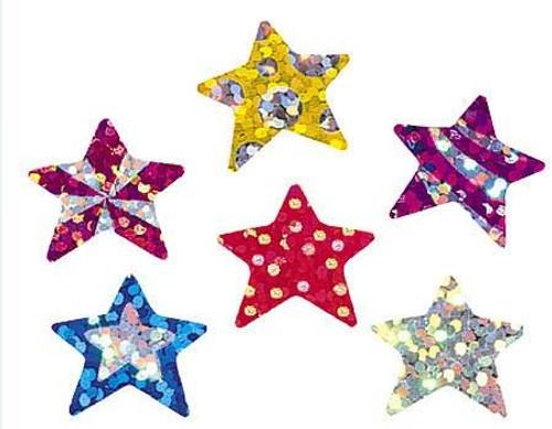 Trend Enterprises Inc 72 Star Brights Sparkle Reward Stickers