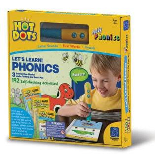 Learning Resources Hot Dots Lets Learn Phonics Set by Learning Resources