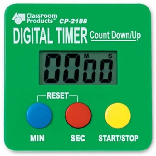 Learning Resources Learning Resources - Digital Timer Count Up and Down Stopwatch