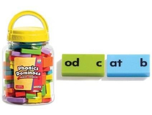 Learning Resources Learning Resources - Phonics Dominoes Short Vowels