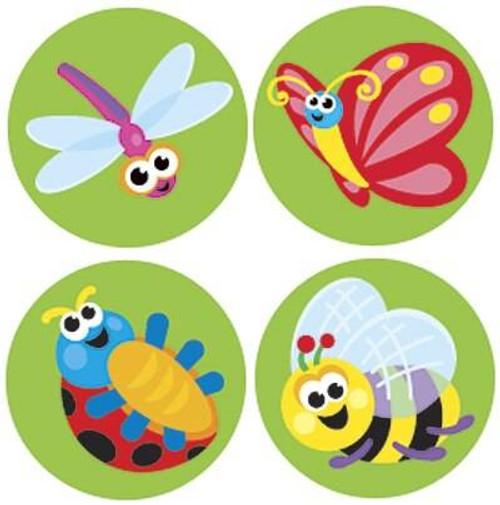 Trend Enterprises Inc 800 Itty Bitty Bugs SuperSpots mini reward Stickers