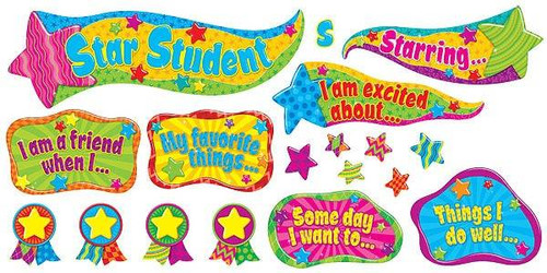 Trend Enterprises Inc Youre the Star Bulletin Board Classroom Display Set