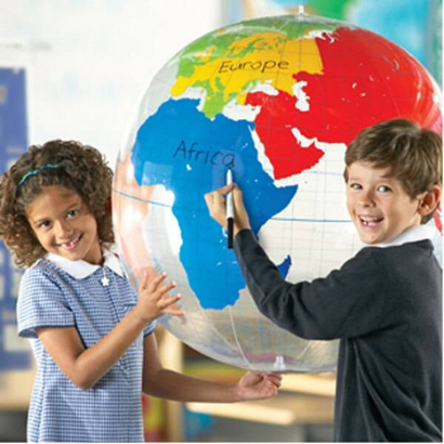 Learning Resources Learning Resources - Giant Hanging Inflatable Labelling Globe