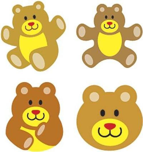 Trend Enterprises Inc 800 Teddy Bears superShapes reward Stickers