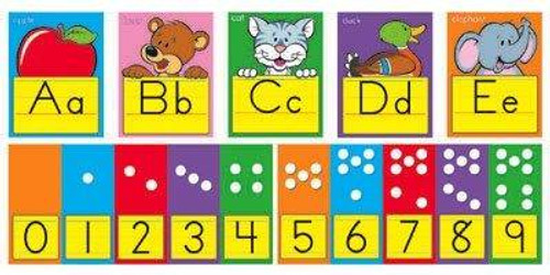 Trend Enterprises Inc ABC Fun Alphabet Line Classroom Display Board Set