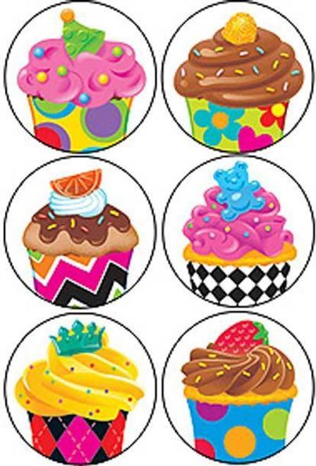 Trend Enterprises Inc 800 Cupcakes The Bake Shop SuperSpots mini reward Stickers