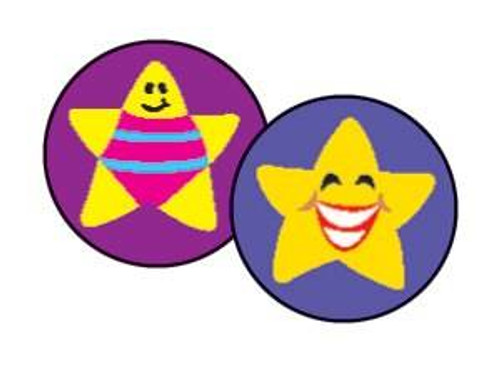 Trend Enterprises Inc 800 Silly Stars superSpots mini reward Stickers