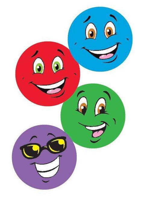 Trend Enterprises Inc 96 Colourful Smiles TUTTI-FRUTTI Scratch n Sniff Reward Stickers