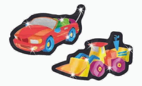 Trend Enterprises Inc TREND Vroom Vehicles Cars Foil Bright Reward Stickers