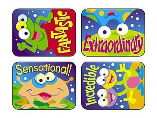 Trend Enterprises Inc TREND 100 Large Space Creatures Applause reward stickers