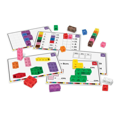 Learning Resources Learning Resources Maths Fluency Set MathLink Cubes