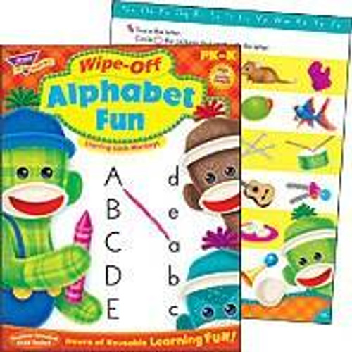 Trend Enterprises Inc Trend Alphabet Fun Wipe-off Book