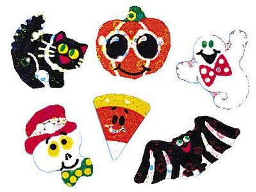 Trend Enterprises Inc 72 Halloween Sparkles Sparkle Reward Stickers