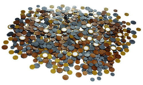 Learning Resources Play Money Bulk Classroom Pack 700 Coins by Learning Resources