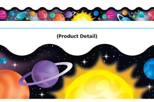 Trend Enterprises Inc Classroom Trimmers Notice Board Display Borders - Super Space
