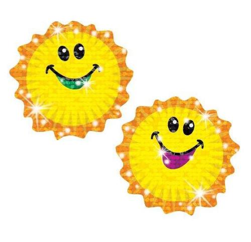 Trend Enterprises Inc TREND Shimmering Suns Sparkle Reward Stickers