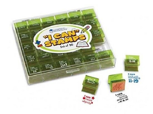 Trend Enterprises Inc Learning Resources - I Can Stamps 30 student achievement stamp set
