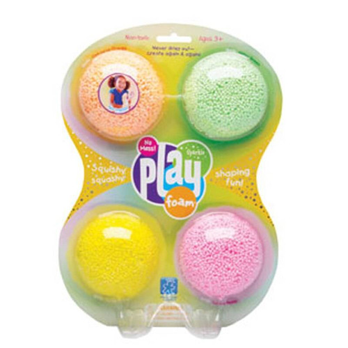 Learning Resources Learning Resources Playfoam Sparkle Play Foam pack of 4