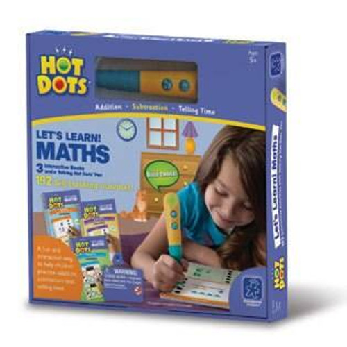 Learning Resources Hot Dots Lets Learn Maths Set by Learning Resources