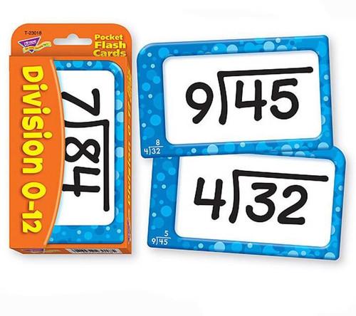 Trend Enterprises Inc Trend Teaching DIVISION Educational Pocket Flash Cards