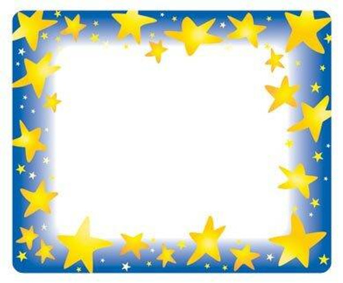 Trend Enterprises Inc 36 TREND Star Brights Name Tag stickers