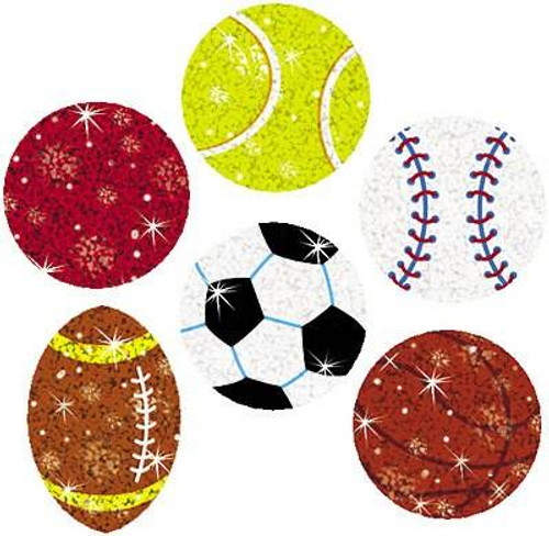Trend Enterprises Inc 72 Star Sports Sparkle Reward Stickers
