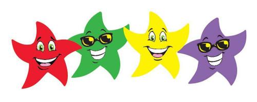 Trend Enterprises Inc 96 Star Smiles Fruit Punch Scratch n Sniff Reward Stickers