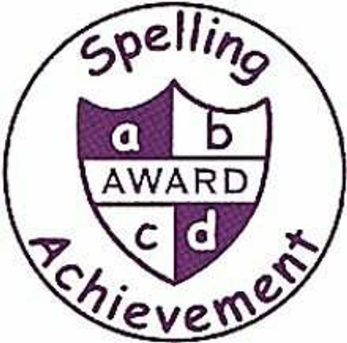 Trend Enterprises Inc Spelling Achievement - Self inking teacher reward xstamper xclamations stamp