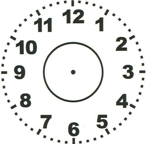 XStamper Clock-Themed - Self inking teacher reward xstamper xclamations stamp