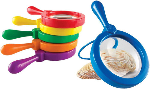 Learning Resources 1 x Primary Science Jumbo Magnifier Various Colours by Learning Resources