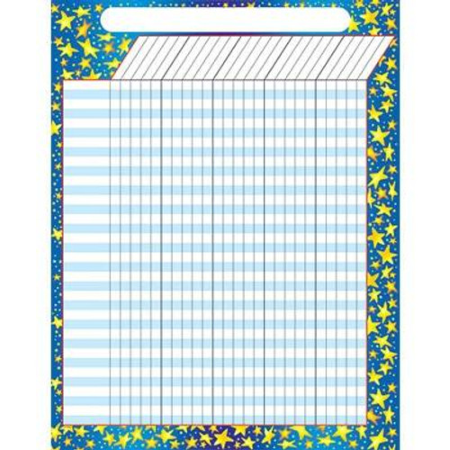 Trend Enterprises Inc Star Brights - Large Durable Incentive Wall Reward Chart