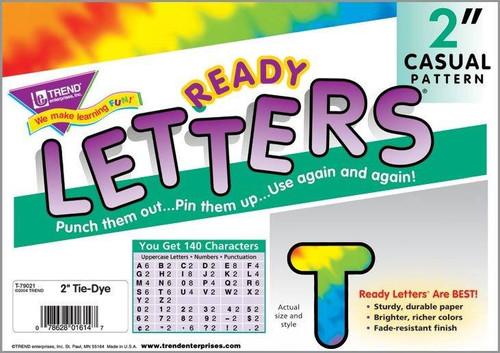 Trend Enterprises Inc Trend Display Ready Letters - Tie Dye 2 Casual