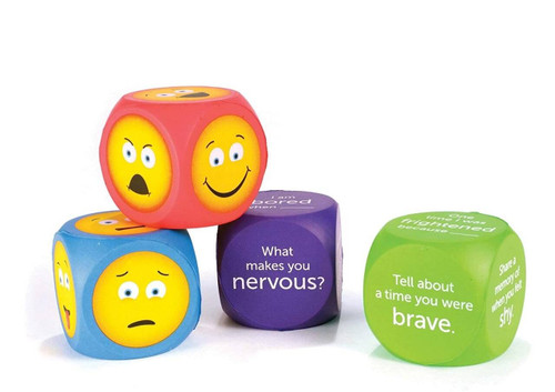 Learning Resources Learning Resources Soft Foam Emoji Cubes