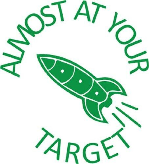 Trend Enterprises Inc Almost at your Target - Self inking teacher reward xstamper xclamations stamp